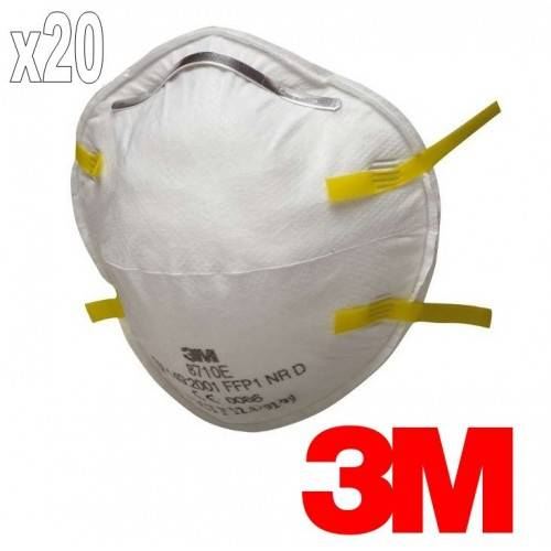Pack 20 mascarillas 3M 8710 FFP1