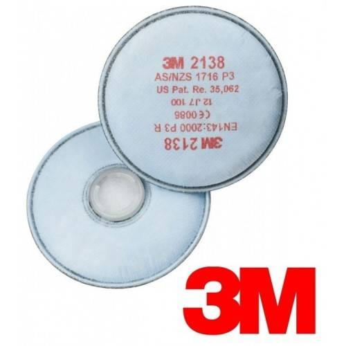 Pack 20 filtros 3M 2138 P3R