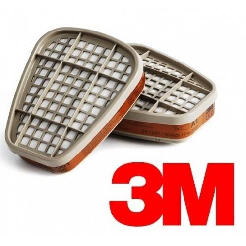 Par filtros A1 3M 6051 - OUTLET