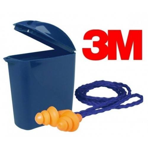 Tapones reutilizable con cordón 3M