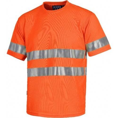 Camiseta alta visibilidad manga corta C3945