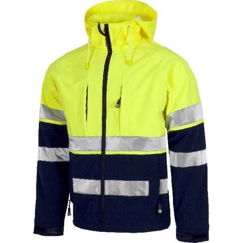 Softshell bicolor Workteam S9525