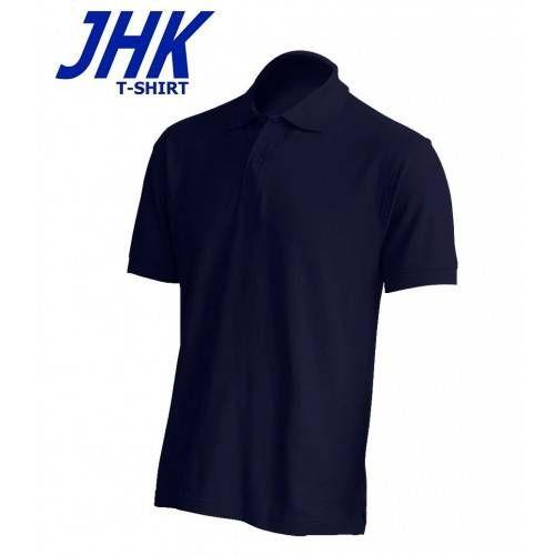 Polo de trabajo pique manga corta JHK Pora 210