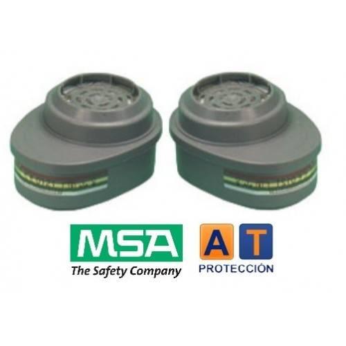 Par filtros MSA Advantage ABEK-P3R