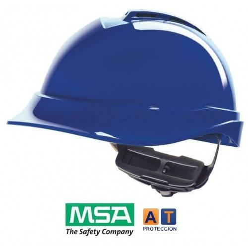 Casco MSA V-Gard 200 Fas Trac III visera corta