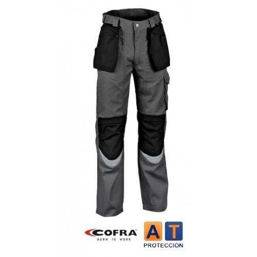 Pantalón tergal COFRA Carpenter antracita-negro