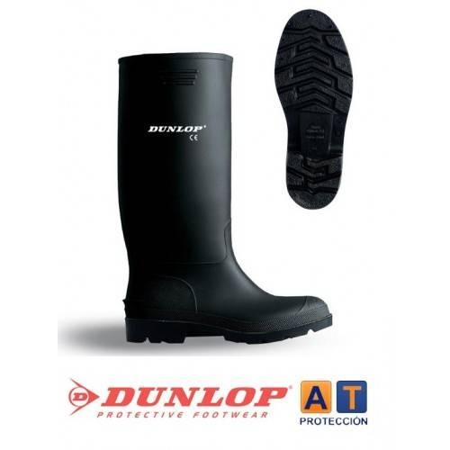 Botas de agua negras DUNLOP - Sin Protección