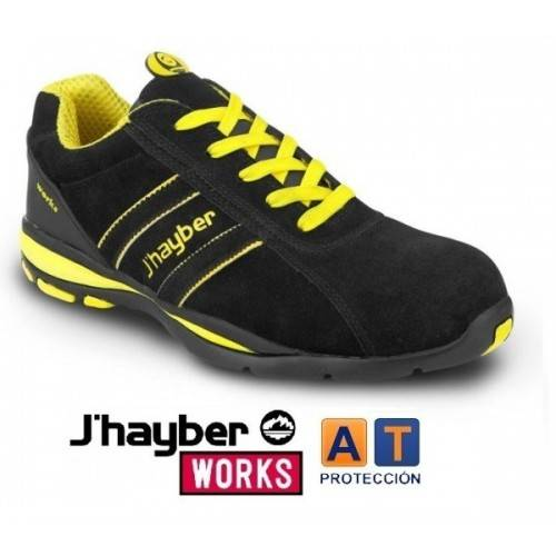 Zapatos J'hayber Works Goal Negro S1P